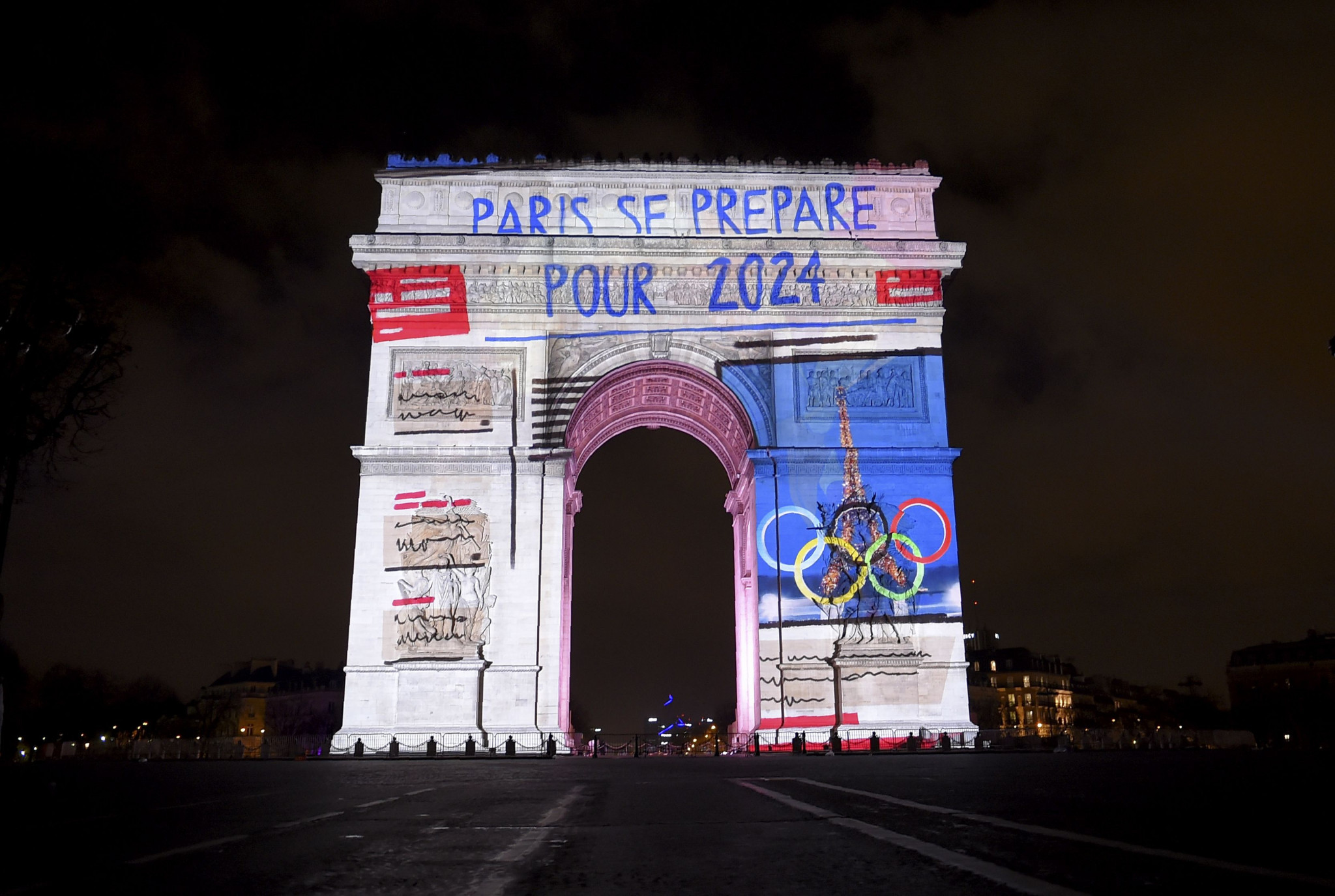 The challenge will be run on the Champs Elysées ©Getty Images