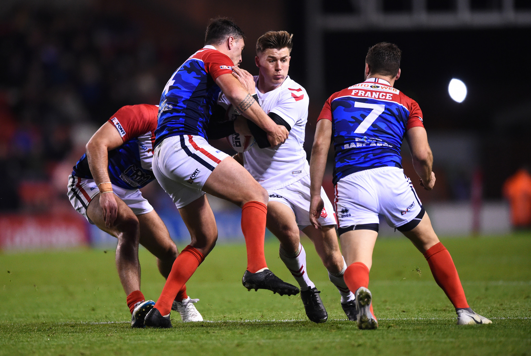 Scrums banned on COVID-19 grounds for France-England internationals arranged in lieu of Rugby League World Cup