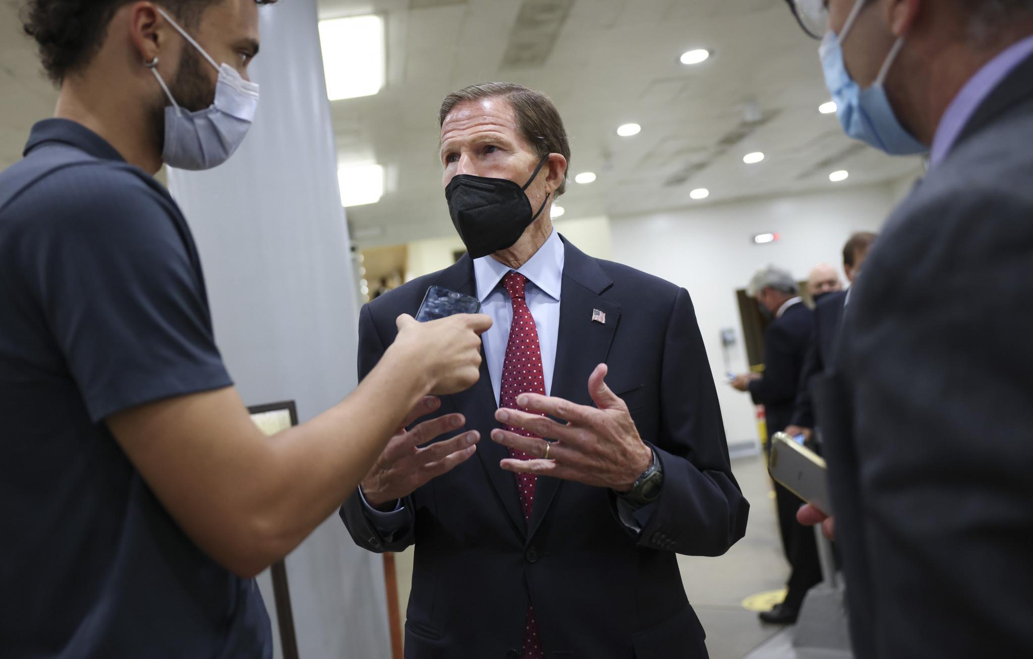 Senator Richard Blumenthal said he wanted to ensure the USOPC was