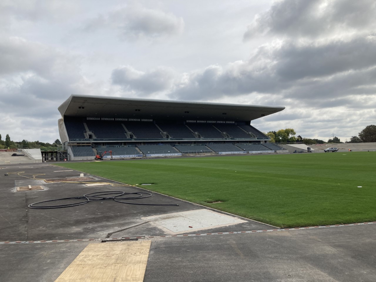 The Alexander Stadium is expanding to a capacity of 30,000 for Birmingham 2022 ©ITG
