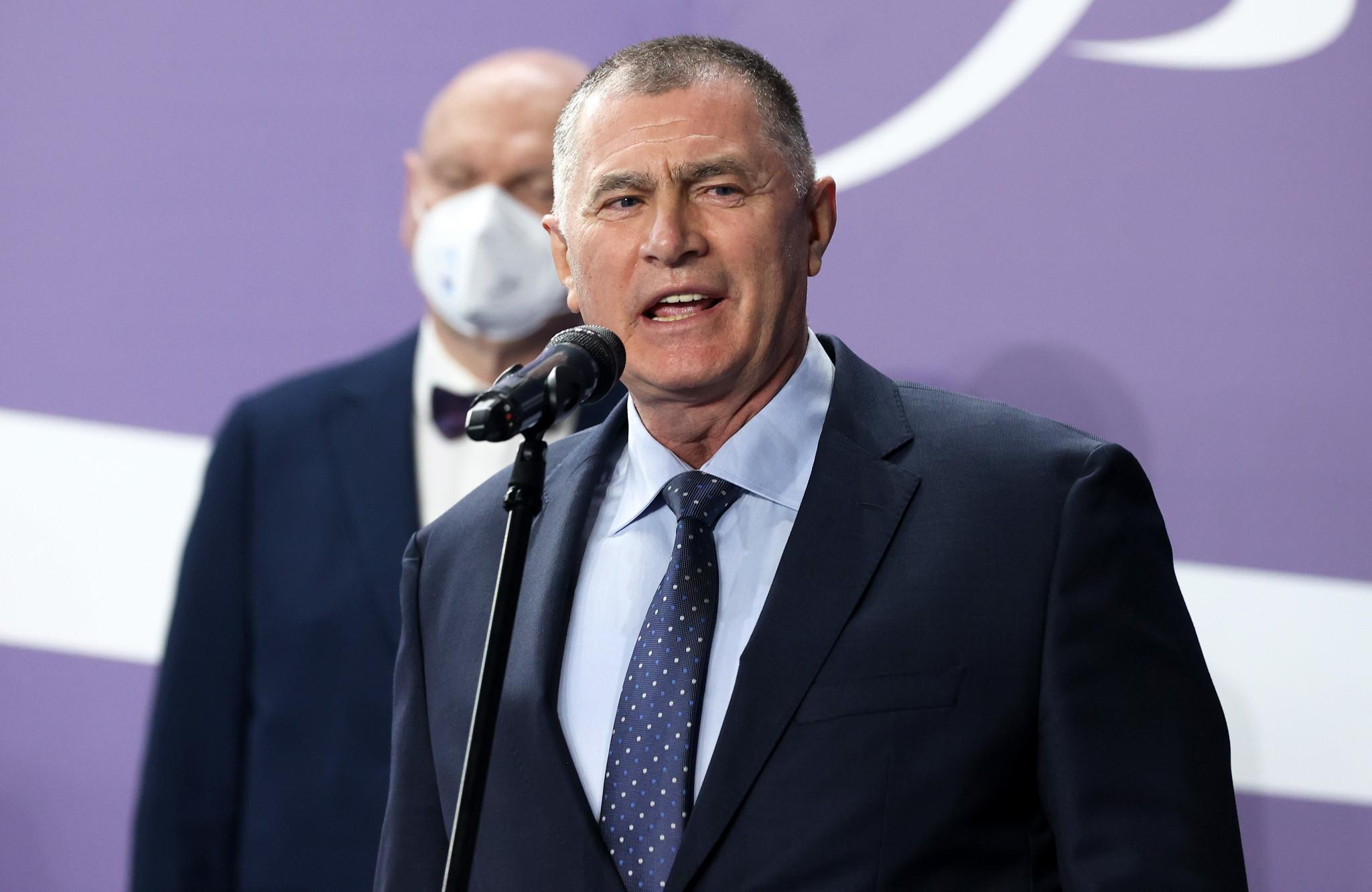 Karamarinov elected unopposed as European Athletics President at Congress