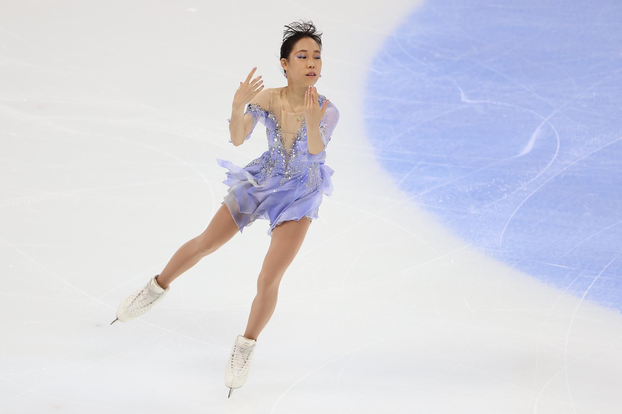 Mihara and Kagiyama see off Japanese rivals at Asian Open Figure Skating Trophy