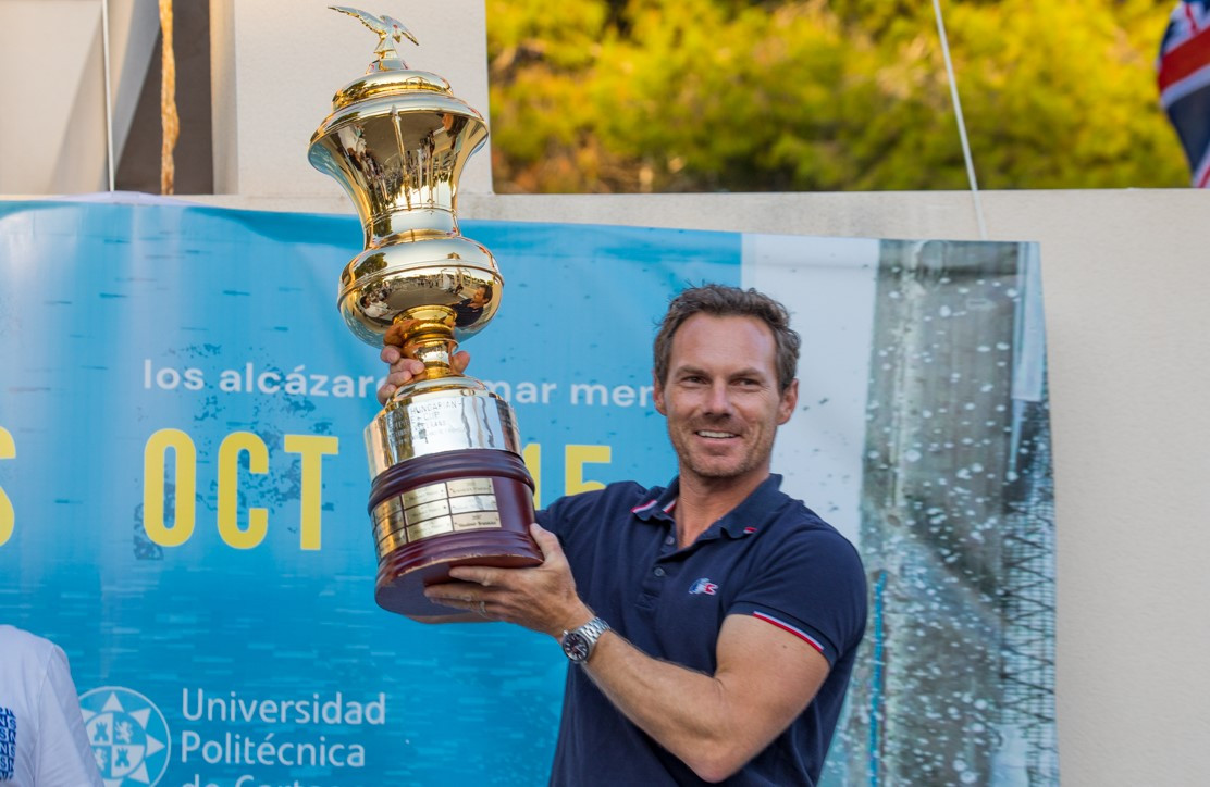 Lebrun wins Finn World Masters after final day is cancelled