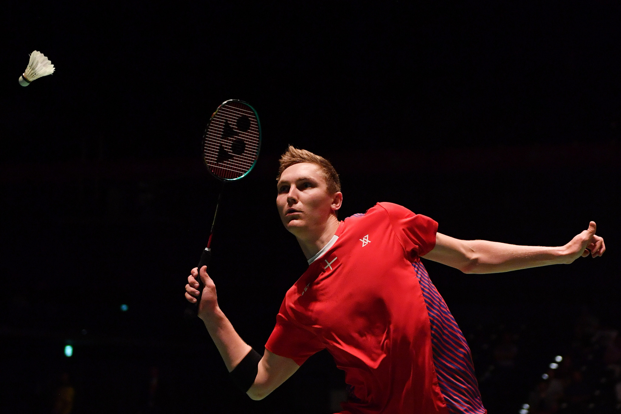 Olympic champion Axelsen leads Denmark to semi-final of Thomas Cup
