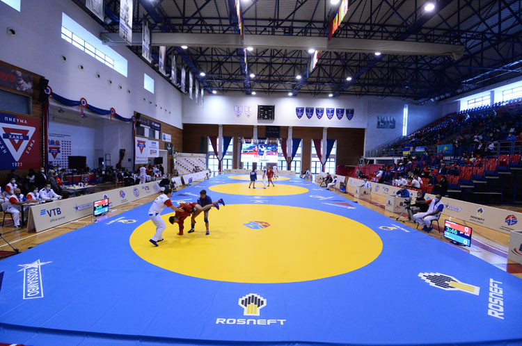 Russia win five golds on opening day of World Youth and Junior Sambo Championships