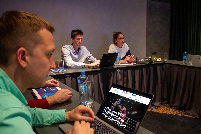 International University Sports Federation visits Yekaterinburg before next year's FISU University World Cup Combat Sports