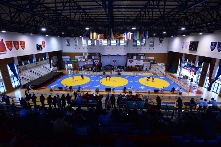 Russia continue to dominate at World Youth and Junior Sambo Championships winning four golds on day two