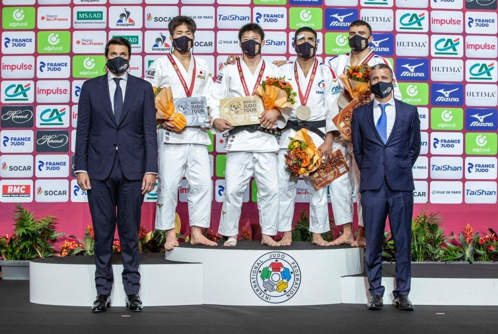 Japan win four golds on opening day of 50th Paris Grand Slam