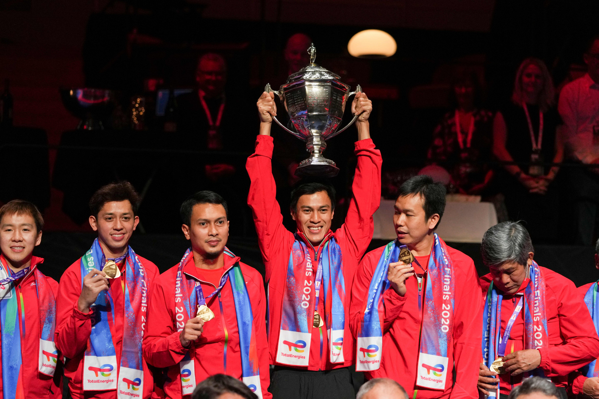 Indonesia ends 19-year Thomas Cup drought with emphatic win against China