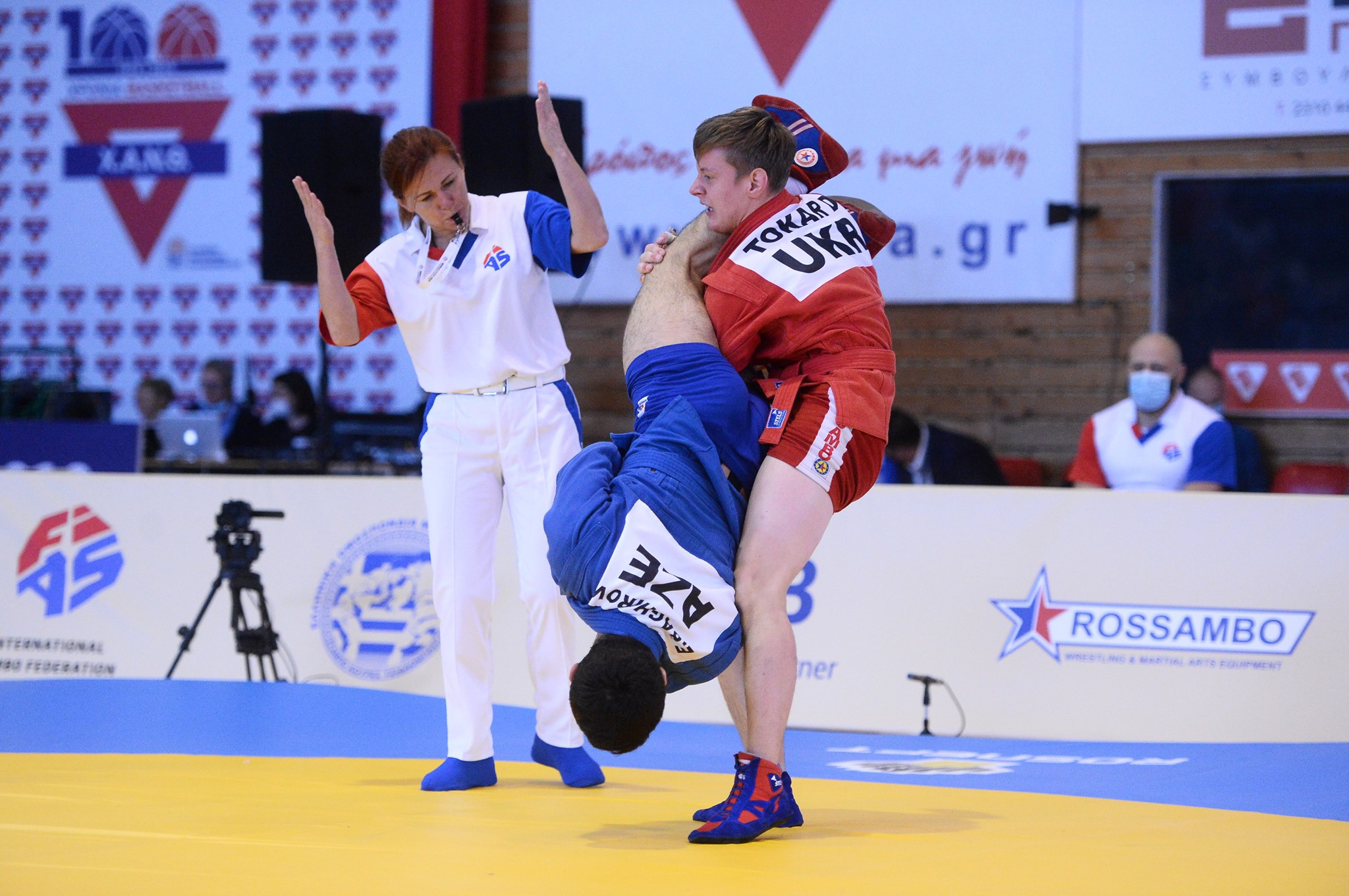 Russia tops overall medal table at final day of World Youth and Junior Sambo Championships