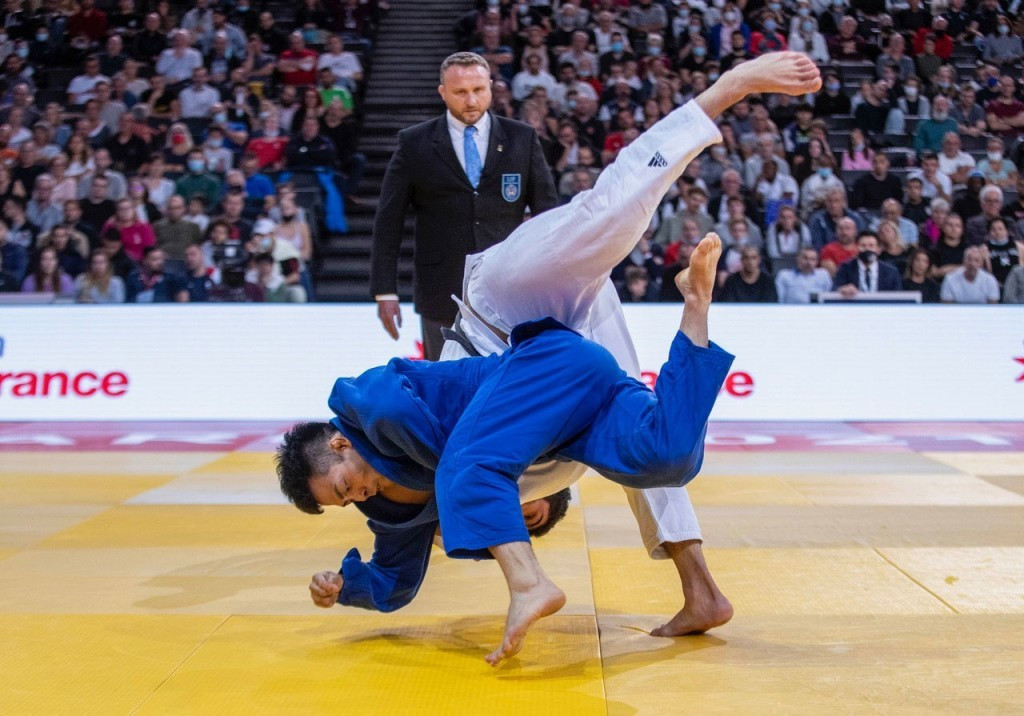 Japan win three gold medals at Paris Grand Slam to finish top of overall standings