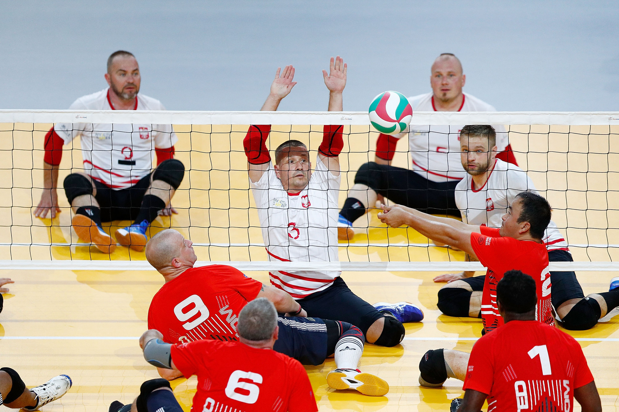 Poland produce thrilling comeback victory at European Sitting Volleyball Championship