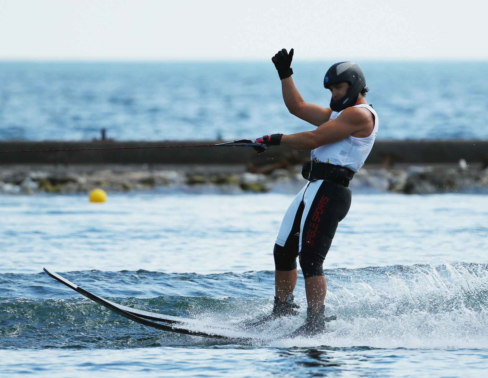 Carroll and Dodd continue dominance at IWWF World Waterski Championships as both retain titles