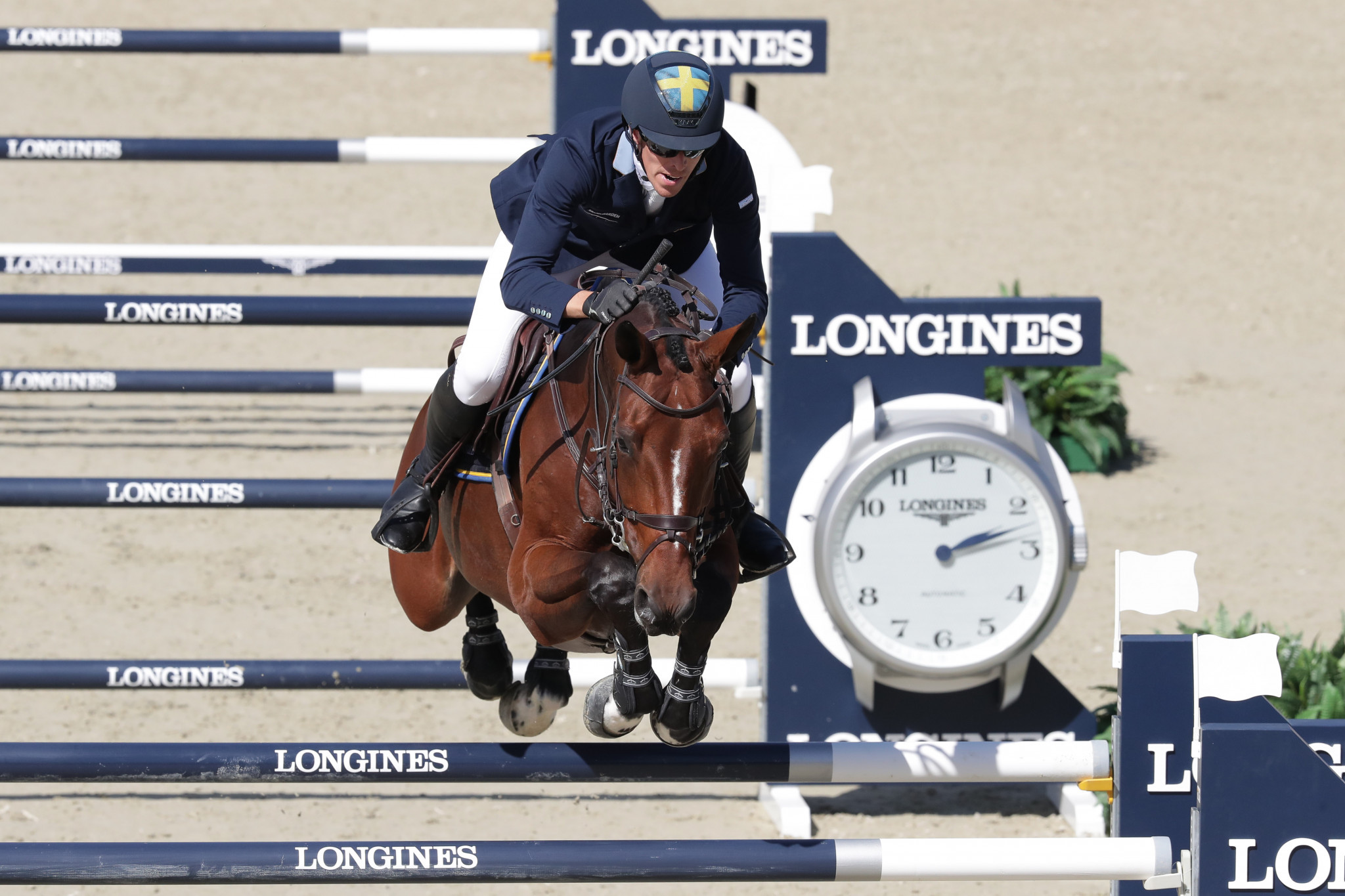 Olympic gold medallist wins as first week of Global Champions Tour action in Šamorín concludes