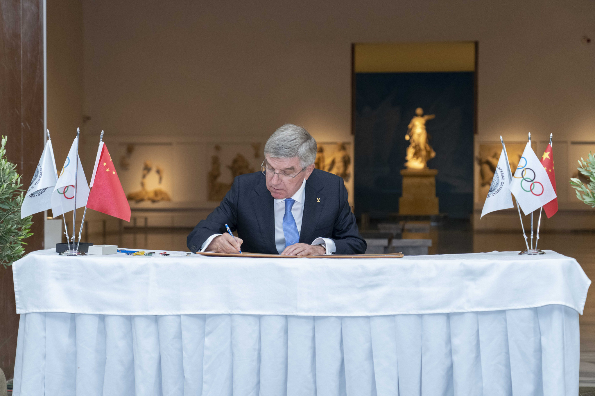 Olympic Truce for Beijing 2022 signed in Ancient Olympia