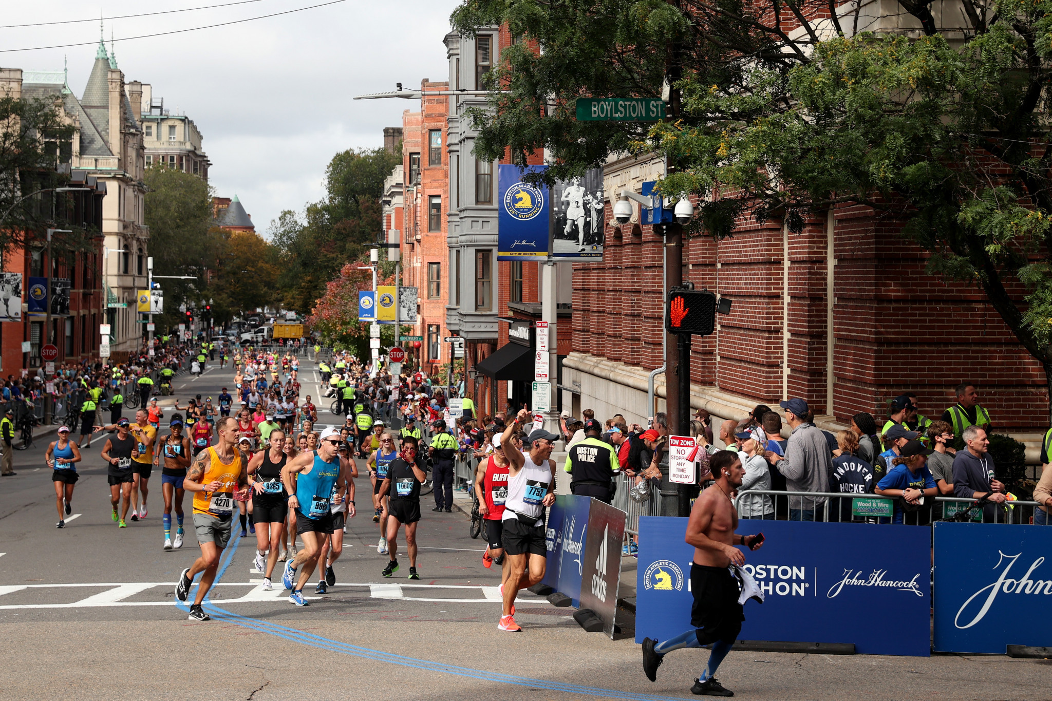 Boston Marathon reveals 93 per cent of runners were fully vaccinated against COVID-19