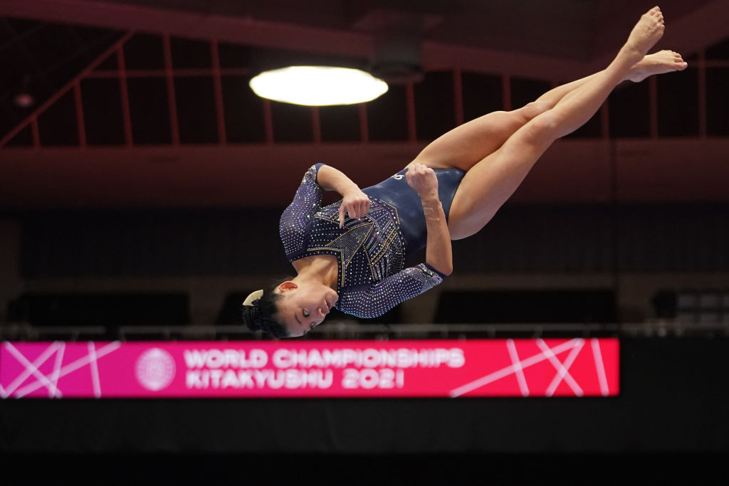 Wong takes lead in women's qualification at Artistic Gymnastics World Championships