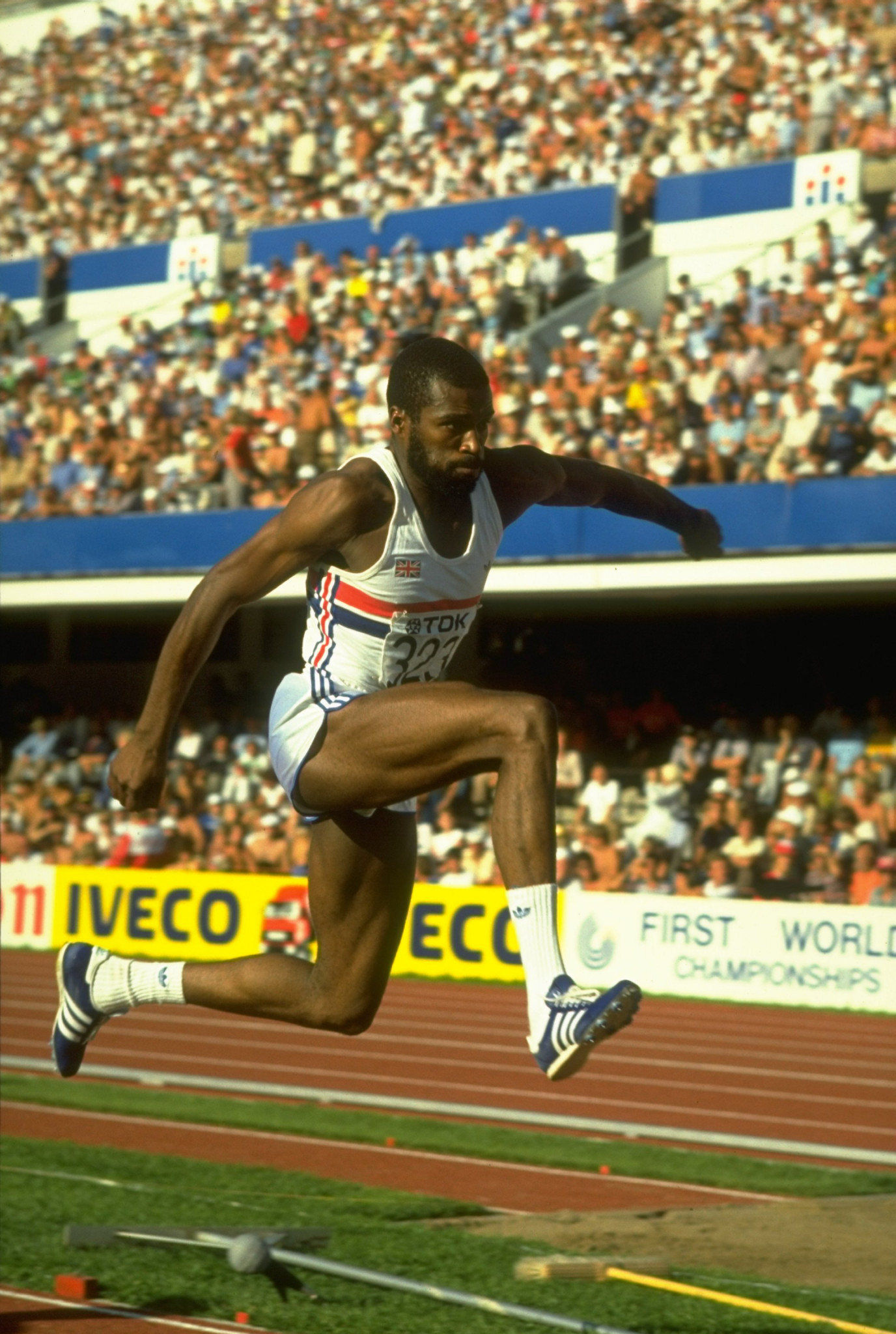 Keith Connor won triple jump bronze for Britain at the Los Angeles 1984 Olympics ©Getty Images