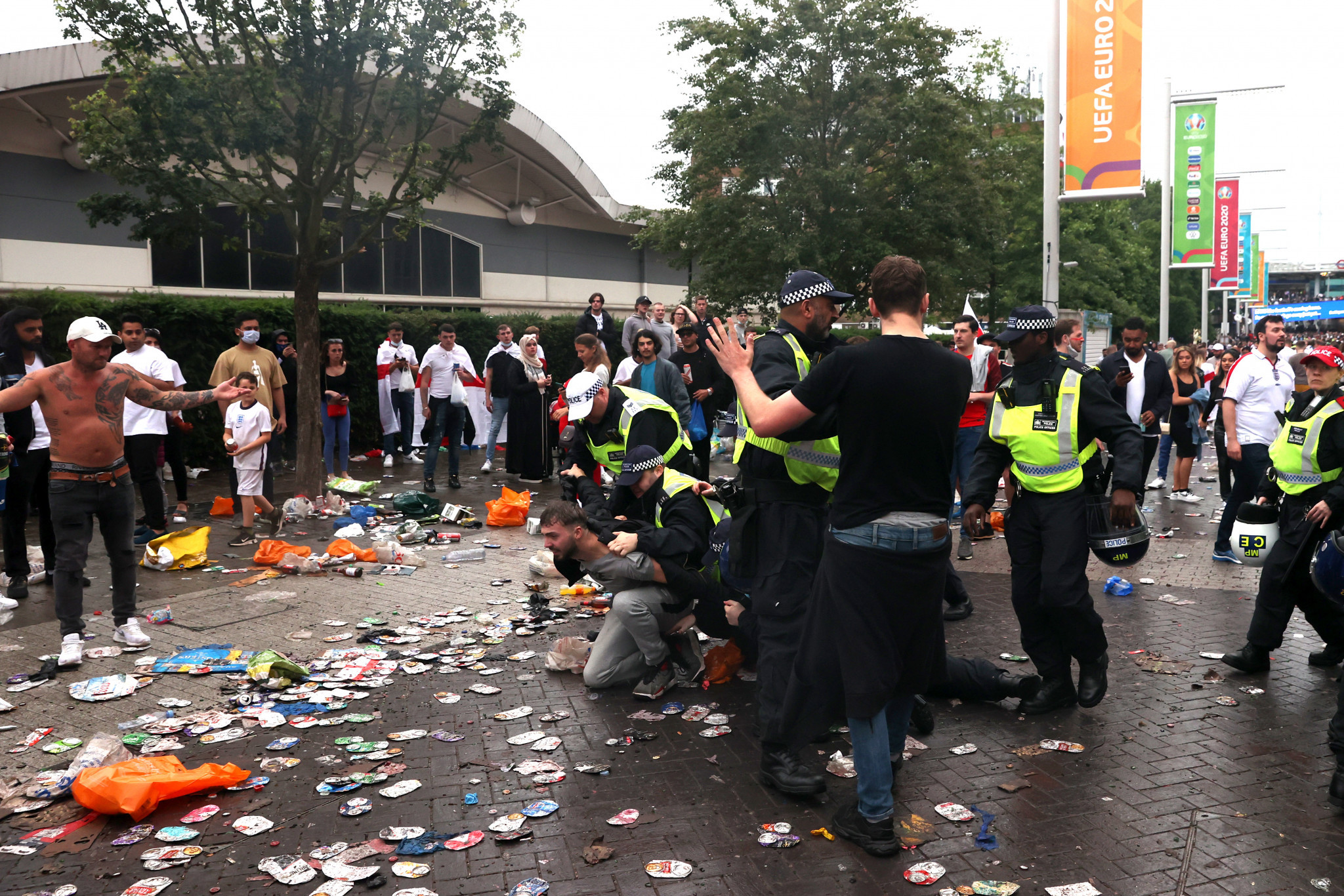 England ordered to play next UEFA match behind closed doors following Euro 2020 final crowd trouble