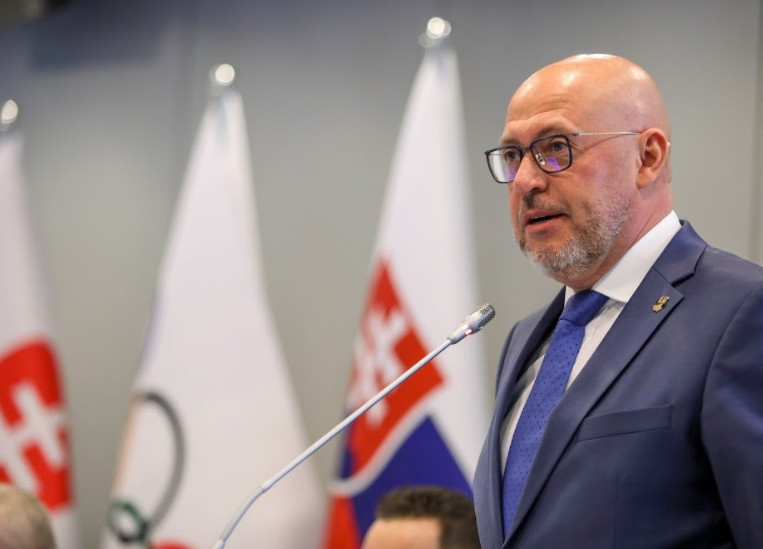 Siekel re-elected Slovak Olympic and Sports Committee President