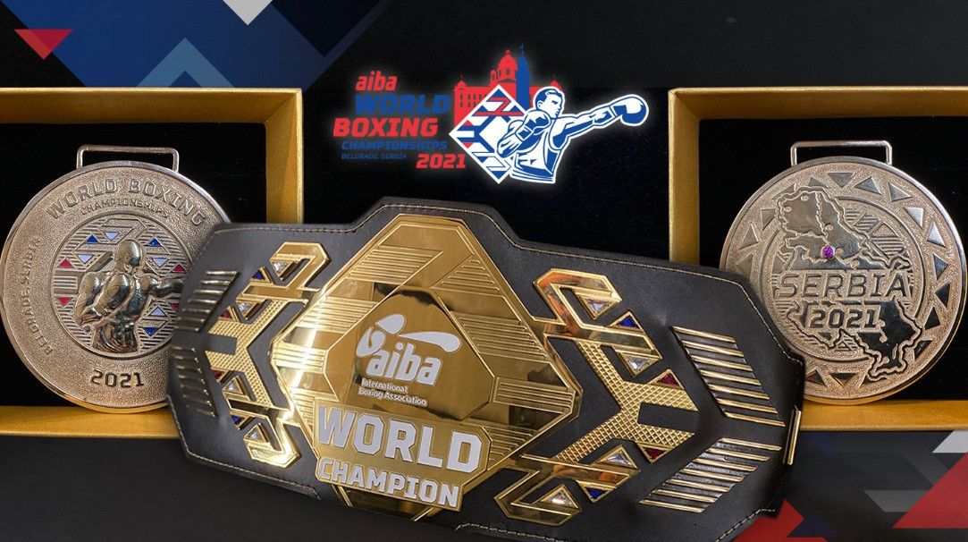 AIBA set to award belts and solid gold and silver medals at Men's World Boxing Championships