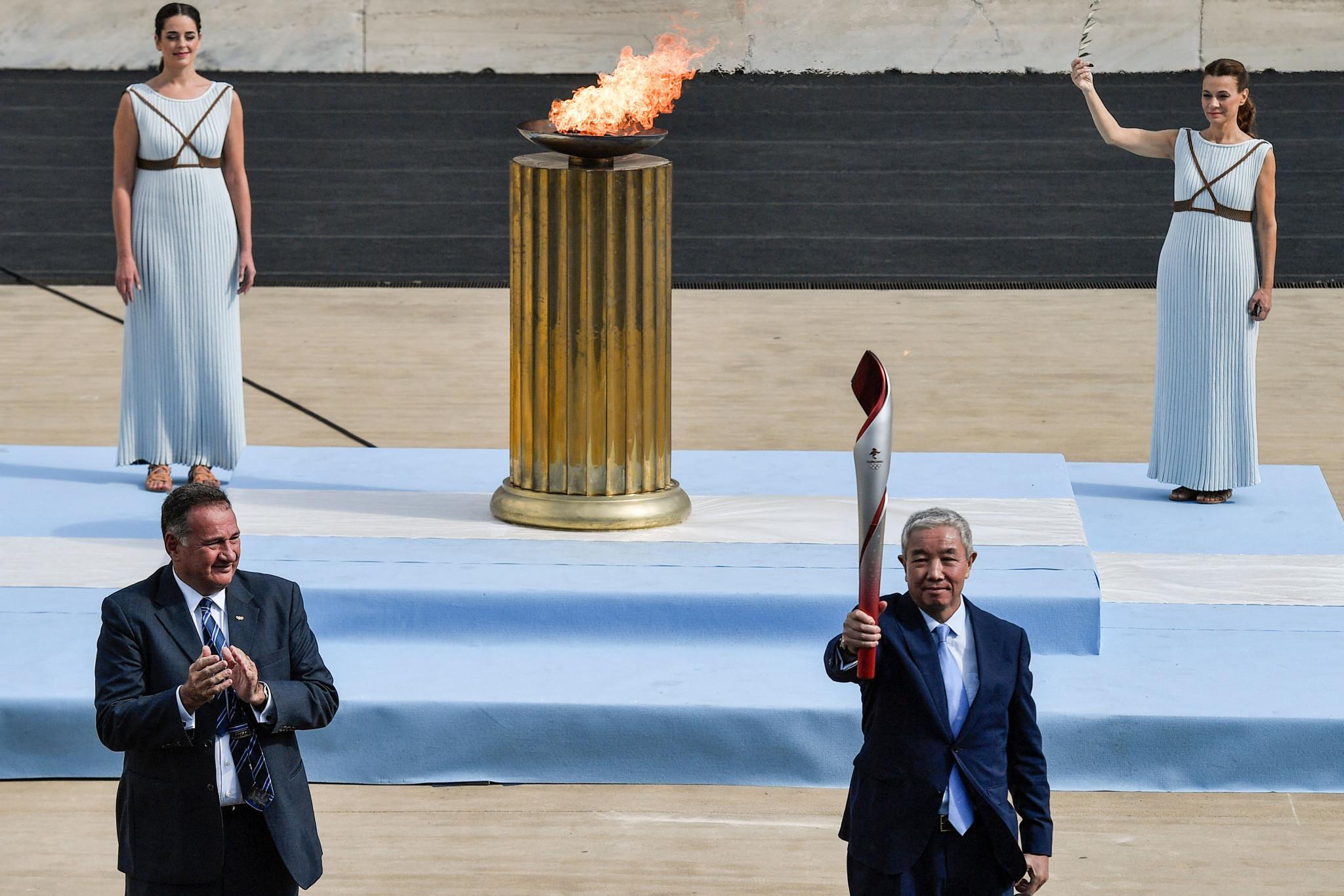 Beijing 2022 receives Olympic Flame in low-key handover