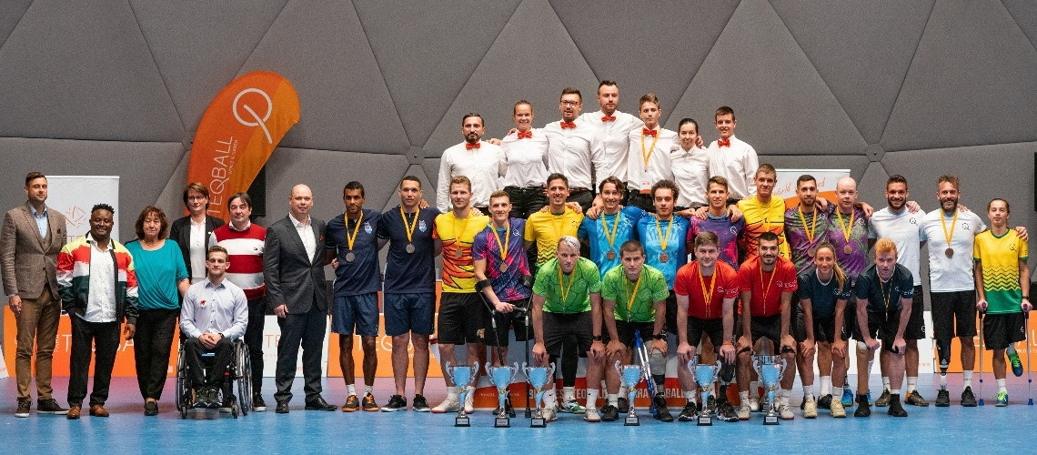 Hungary stages FITEQ's first-ever combined able-bodied and Para teqball event