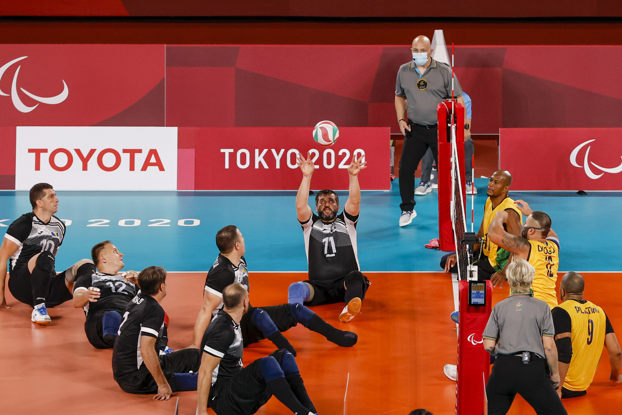 Russia among nations to finish men's group stage with three wins at European Sitting Volleyball Championships