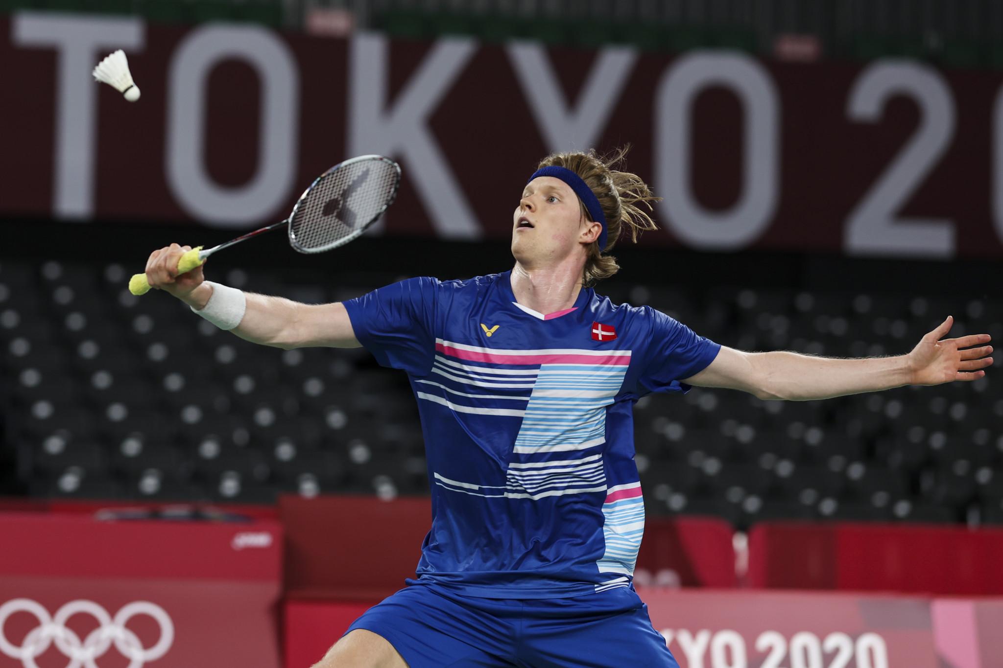 Top seed Momota progresses at BWF Denmark Open as Antonsen wins repeat of last year's final