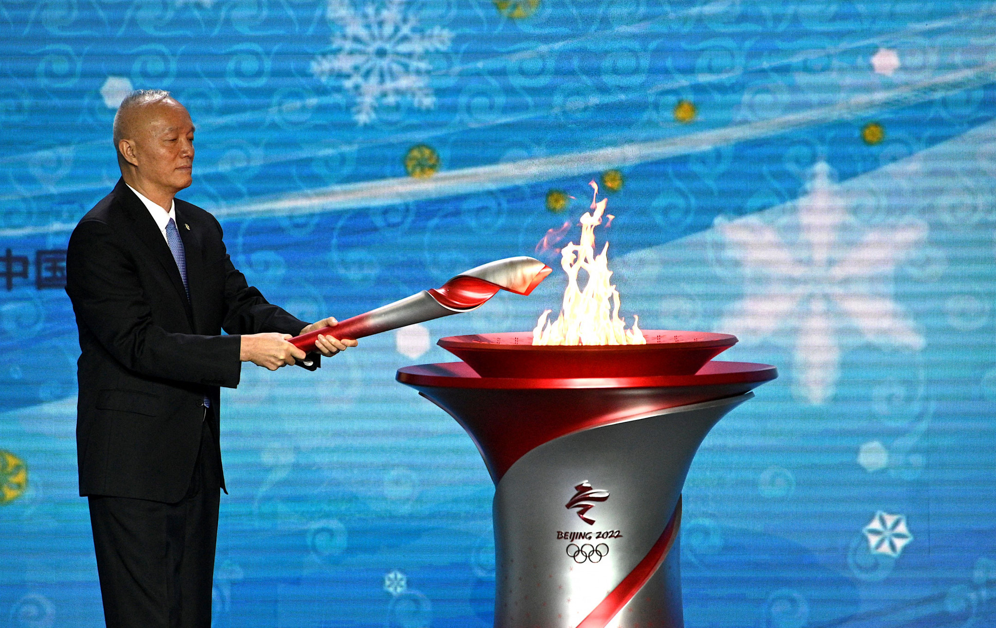 Beijing 2022 Torch arrives in China as plans revealed for scaled-back Relay