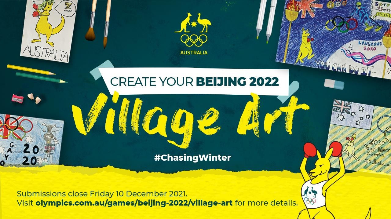 AOC gives children chance to have artwork displayed at Beijing Olympic Village