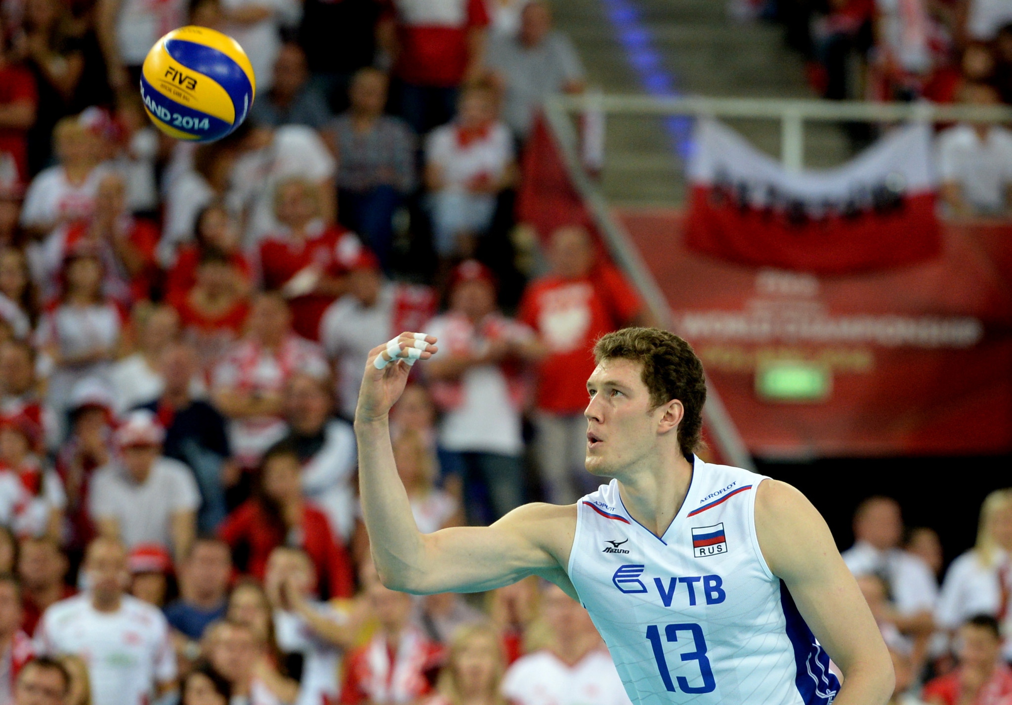 Olympic volleyball champion Muserskiy accepts doping ban but Russia will not lose titles