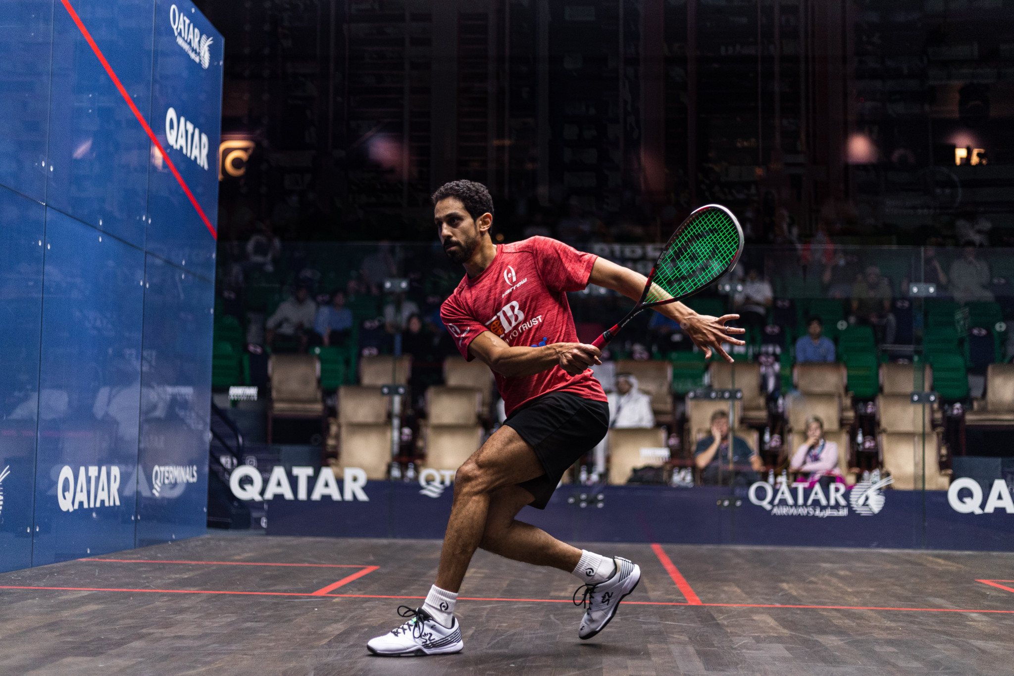 Momen and Asal to meet in Qatar Classic quarter-finals