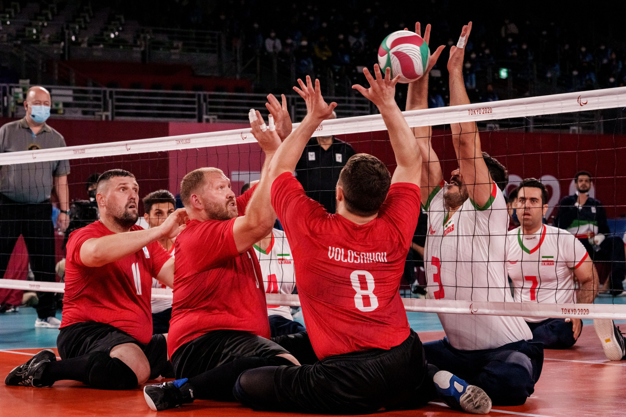 Defending champions Russia in dominant form at European Sitting Volleyball Championships