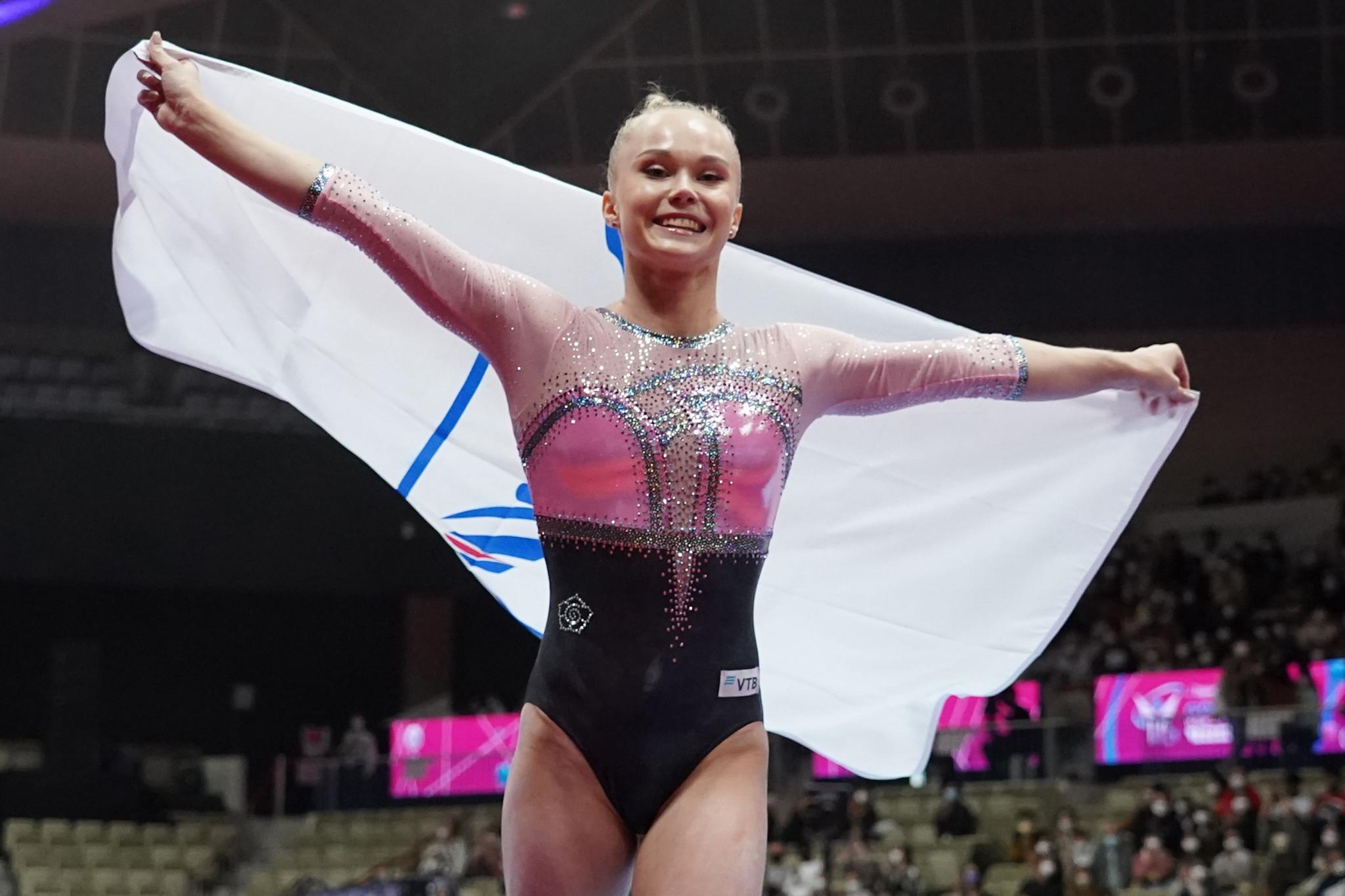 Melnikova wins women's all-around gold at Artistic Gymnastics World Championships