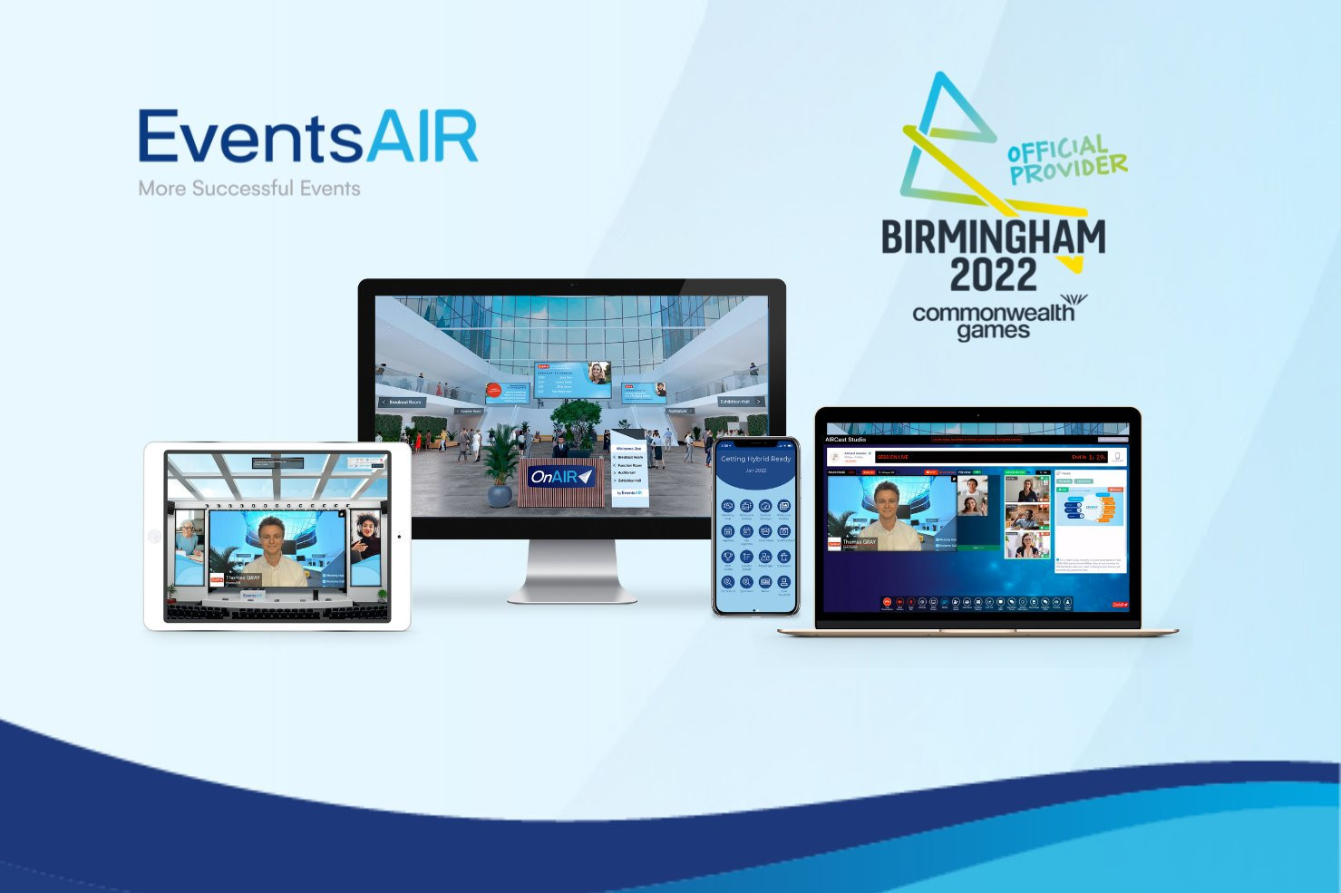 EventsAIR named Birmingham 2022 Commonwealth Games' latest official provider