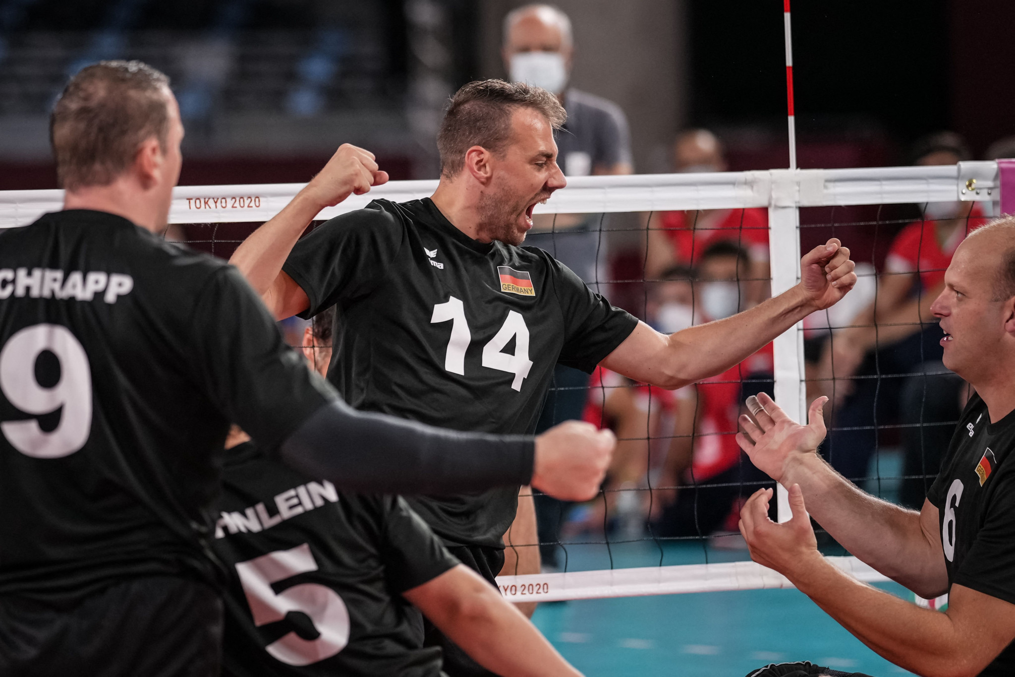 Germany and Russia reach women's and men's semi-finals at European Sitting Volleyball Championships