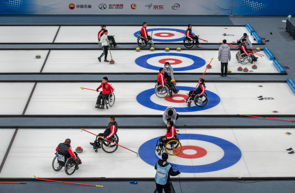Beijing 2022 points at stake at World Wheelchair Curling Championship