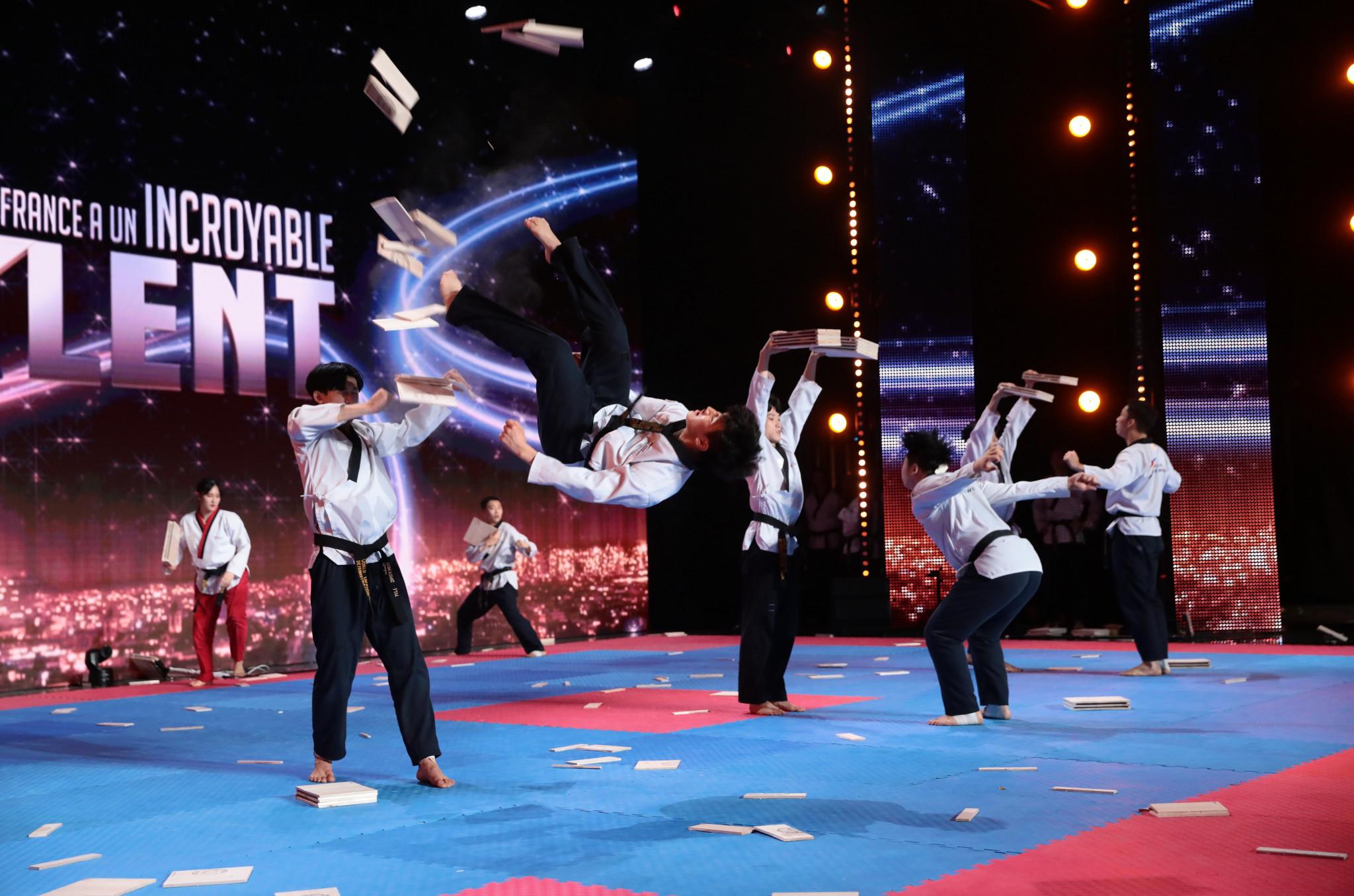 World Taekwondo demonstration team impresses on France's Got Talent