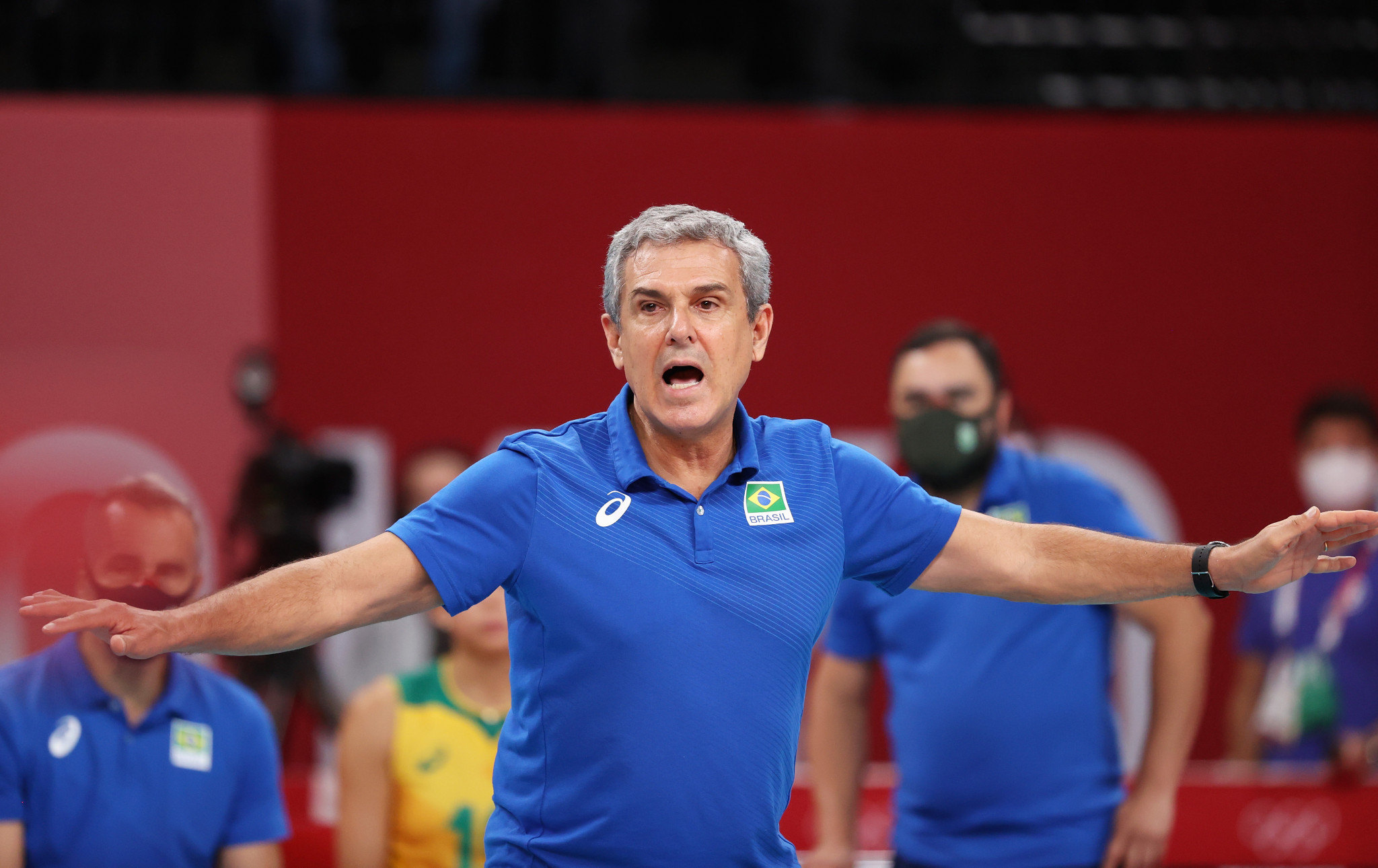 Brazil retains volleyball head coaches for Paris 2024