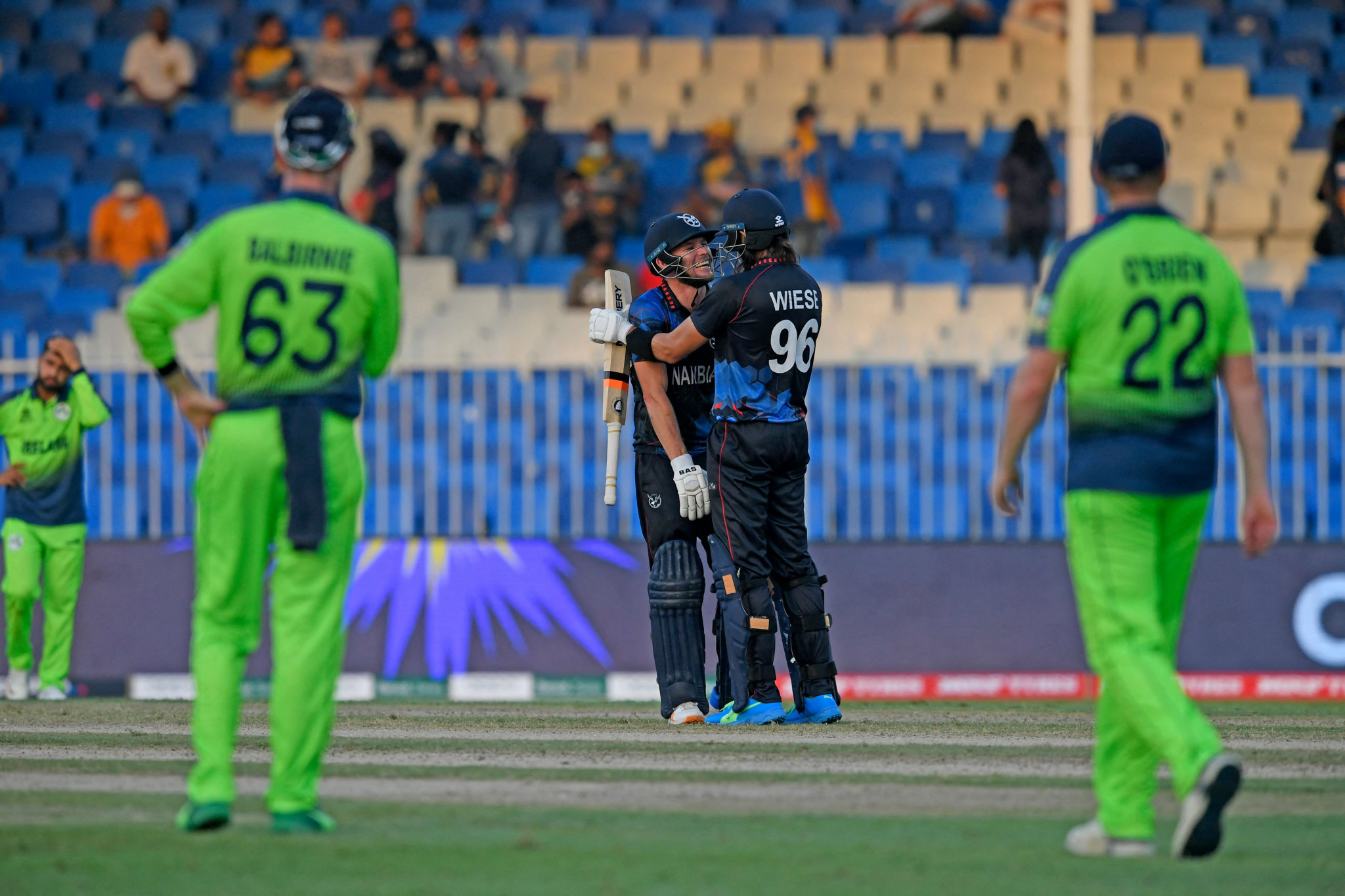 Namibia and Scotland reach T20 World Cup Super 12 round for first time