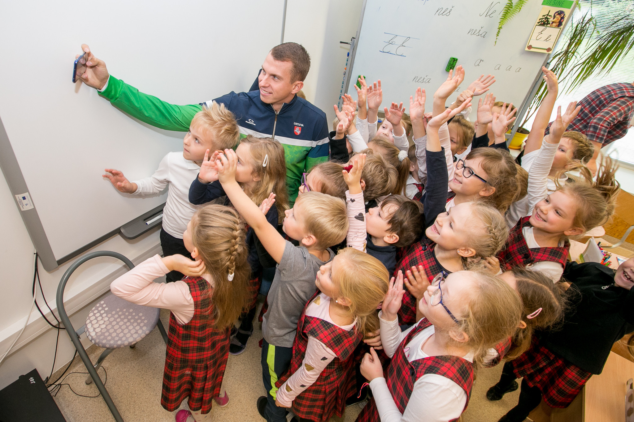 Olympic values taught across Lithuania in a month-long project