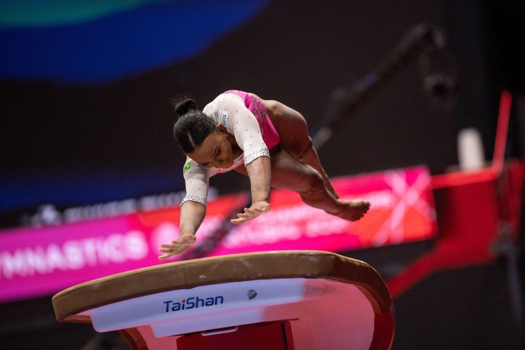 Andrade clinches vault title at Artistic Gymnastics World Championships