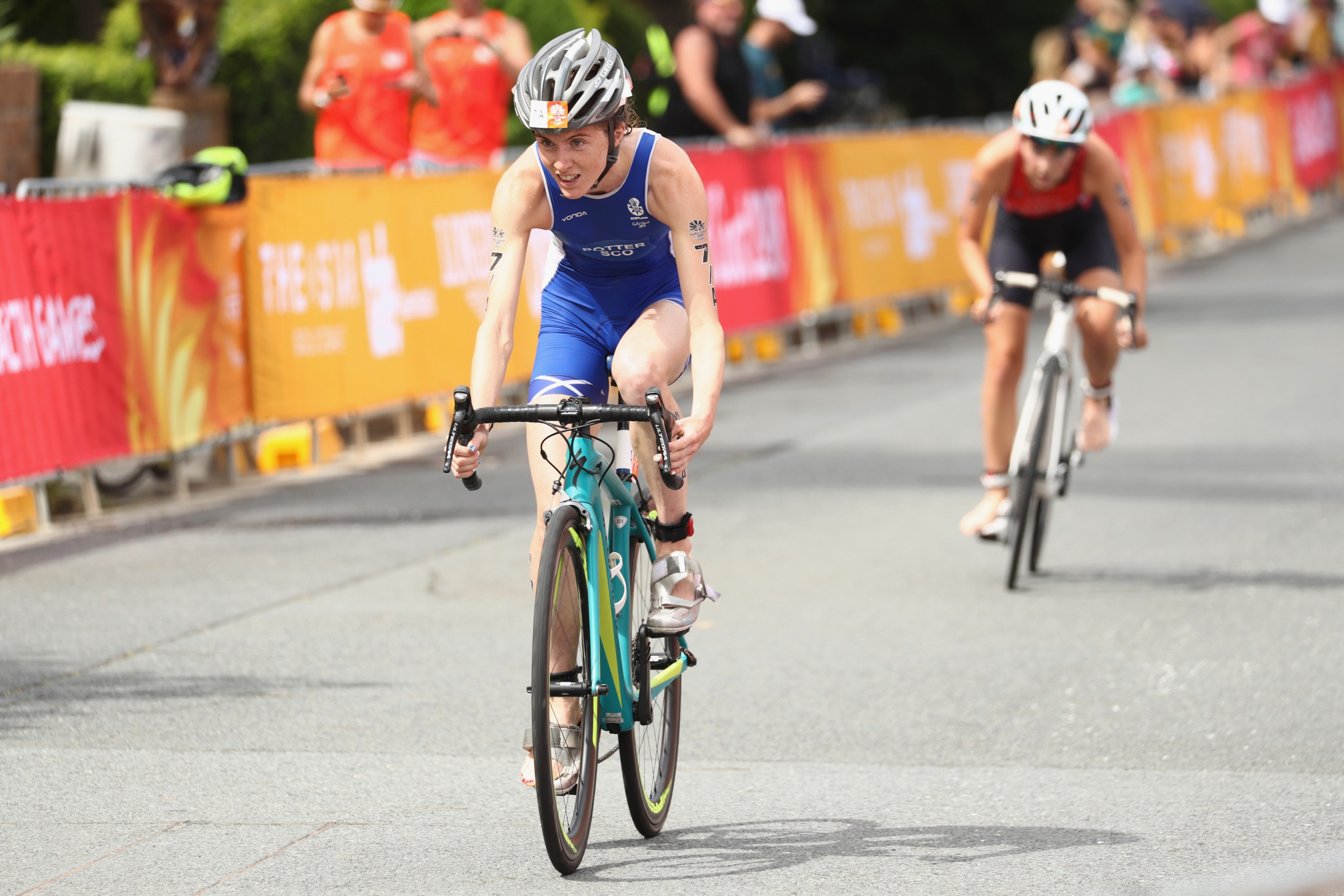 Pujades and Potter power to victory at Haeundae World Triathlon Cup