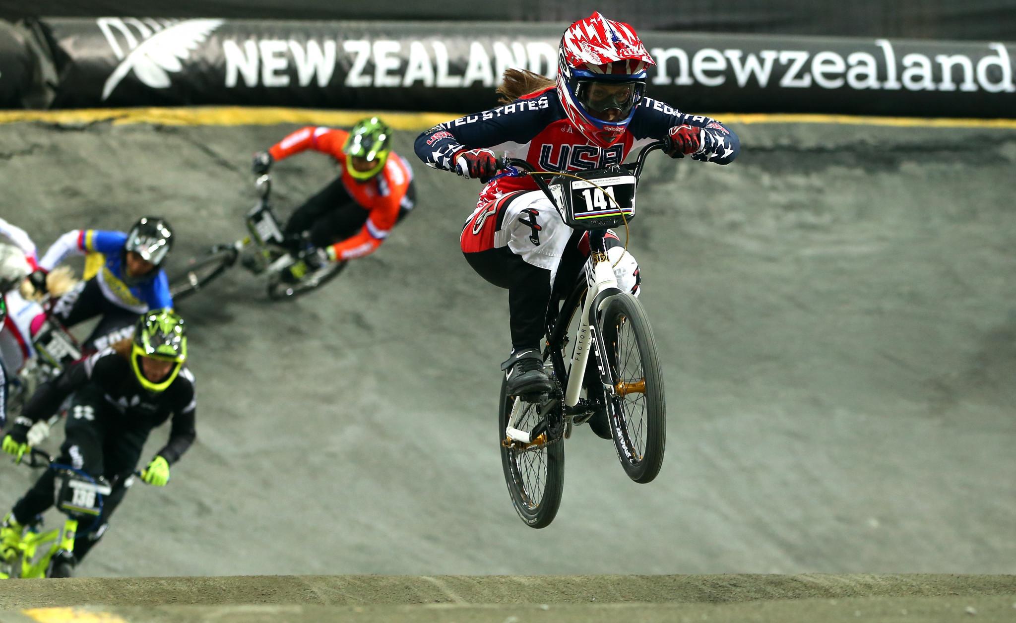 Marquart and Stancil win on first BMX Supercross World Cup leg in Sakarya