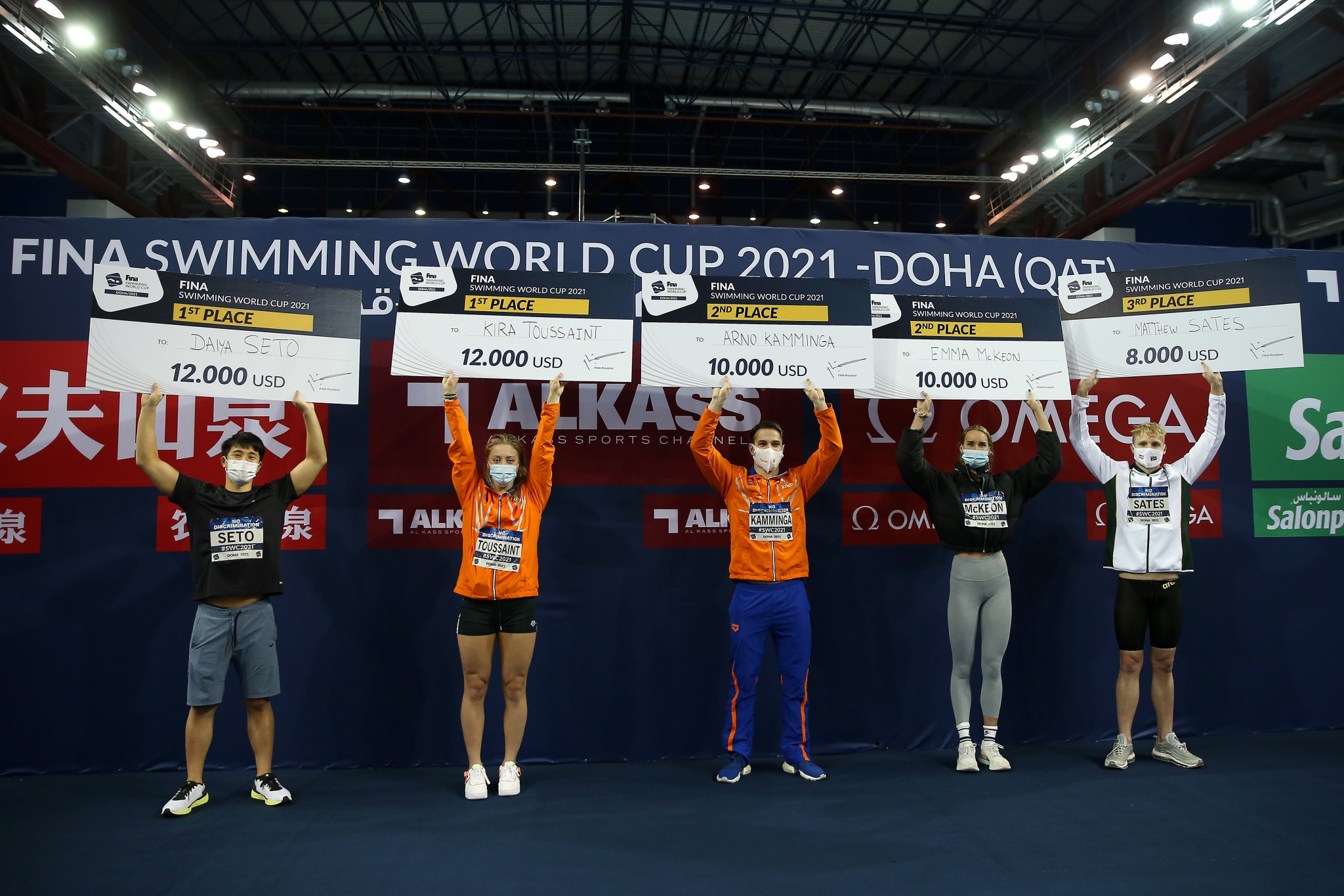 Toussaint and Seto crowned champions of FINA Swimming World Cup third leg