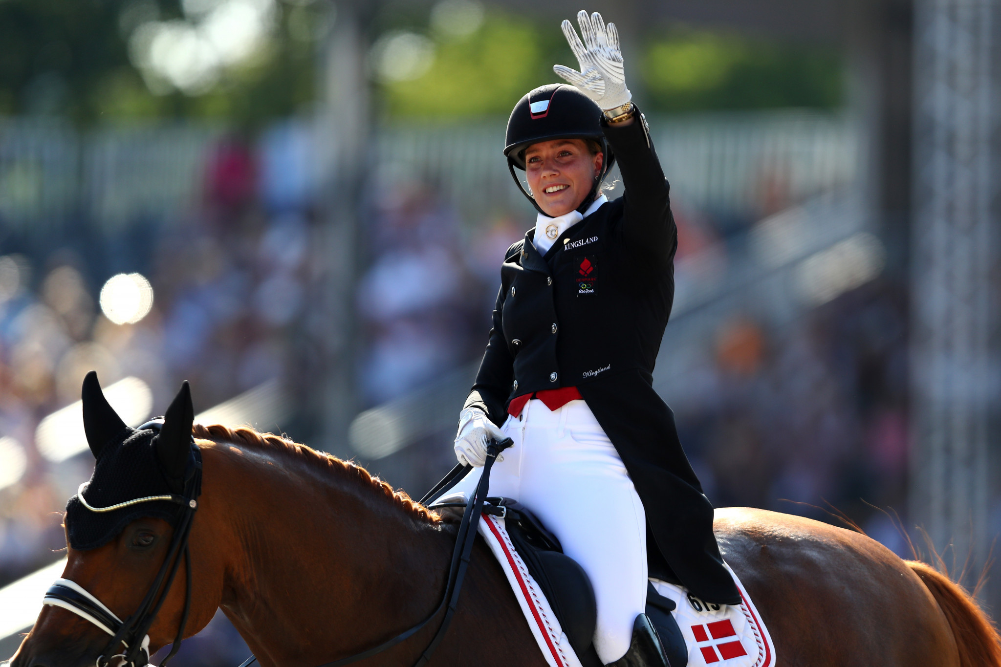 Danish delight as Dufour wins opening leg of Dressage World Cup on home turf