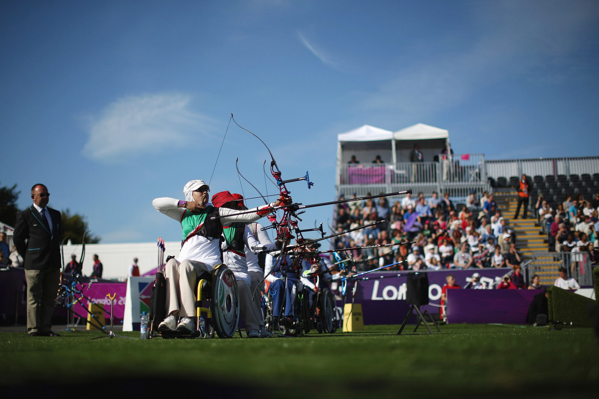 Three-person Para archery team events to be replaced by doubles