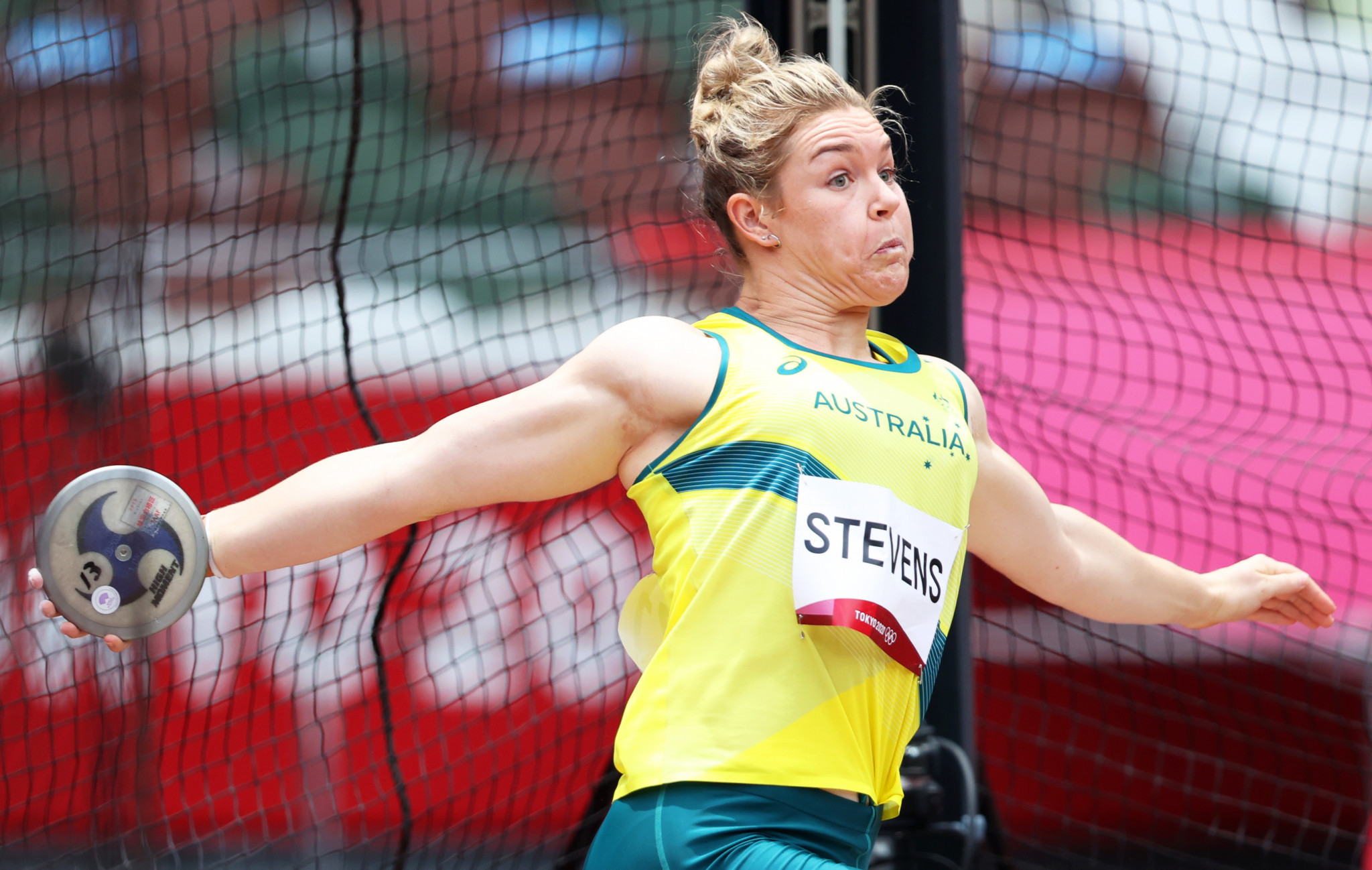 Back-to-back Commonwealth Games discus champion Stevens retires
