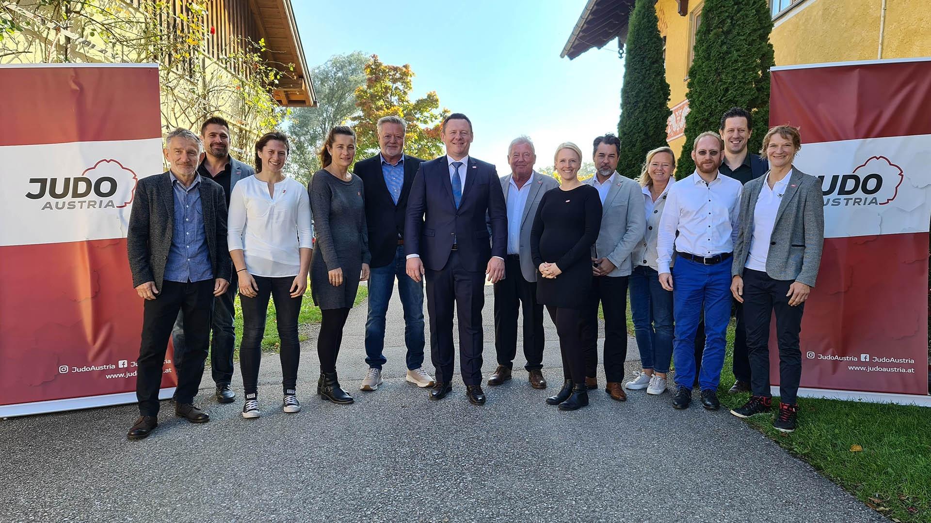 Poiger re-elected Judo Austria President